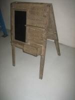 old antiek krijtbord