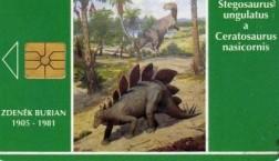 telefoonkaart uit Tjechie,1993