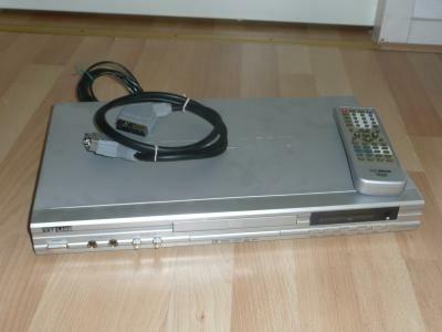 dvd speler te koop met afstand bedienig en scart kabel
