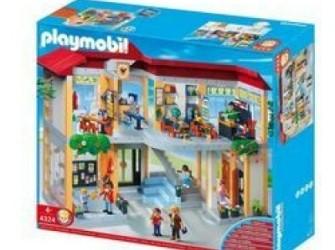 Playmobil Ingerichte school: super geprijsd !!!