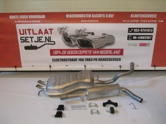 Complete Uitlaat Volkswagen Golf IV 1.6 1.8 2.0