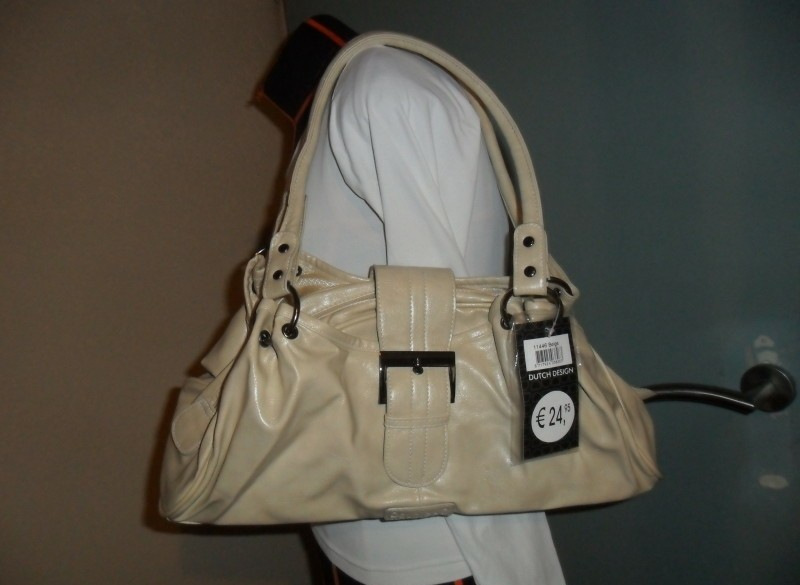 'Nieuw beige tas DOUBLE D'