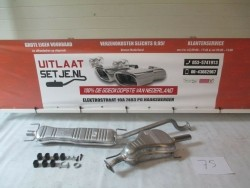 Complete Uitlaat Opel Astra G 1.6 16V 1A