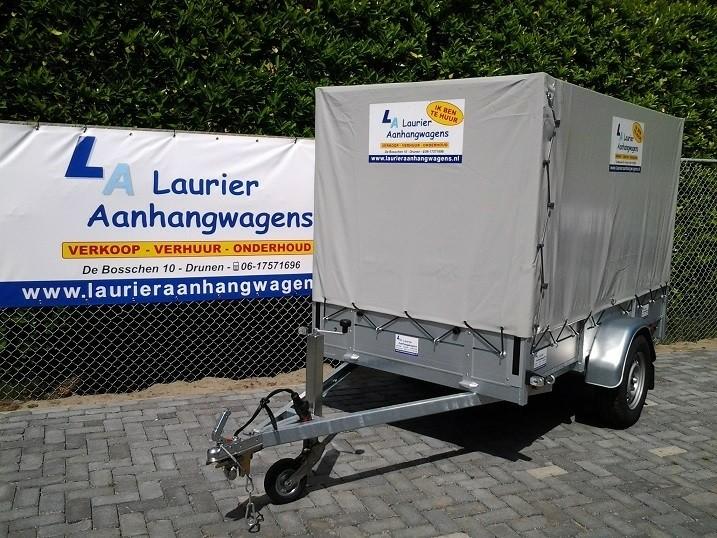 Goedkoop huren en kopen en onderhoud aanhangwagens