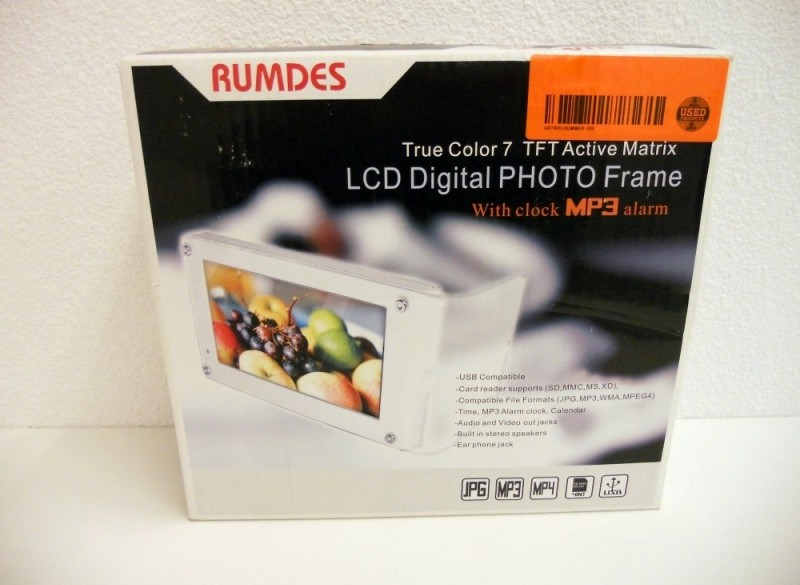 Rumdes DPF7010 fotolijst