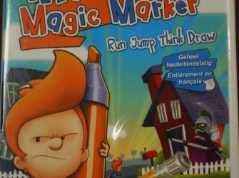 Wii game Max the magic marker