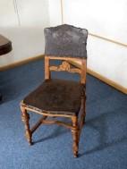 Antiek decoratief stoeltje