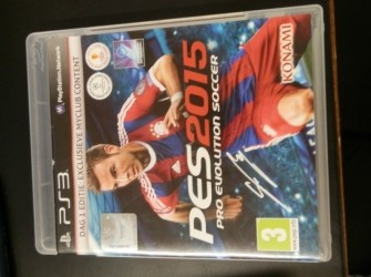 Ps3 game PES 2015