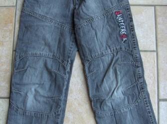 Spijkerbroek zwart Skate Freak maat 128