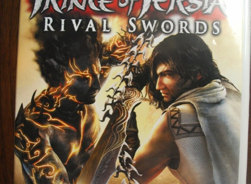wii game prince of persia rival swords