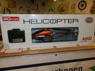 Radiografische helicopter Pandjeshuis Harlingen
