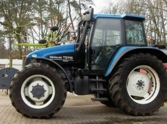 New Holland TS115SLE 4WD TRACTOR