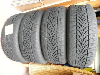 4 winterbanden plus velg