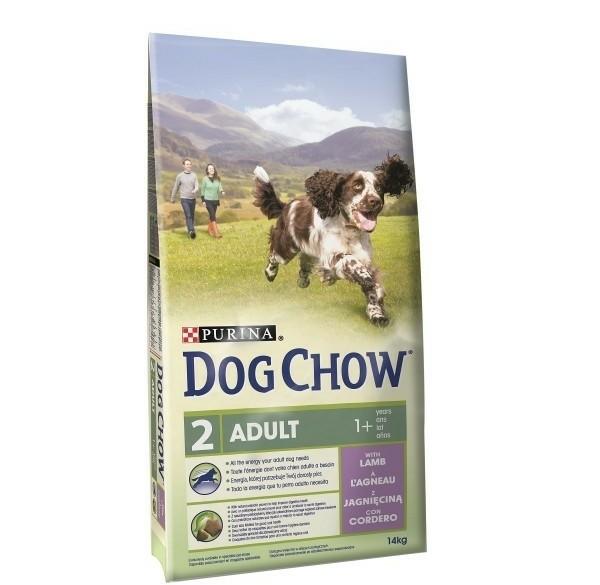 14kg Dog Chow Adult Lam hondenvoer voor laagste prijs