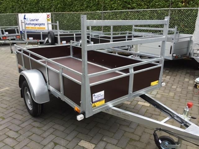 Goedkope 750 kg ongeremde aanhangwagen