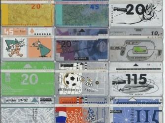 15 verschillende telefoonkaarten