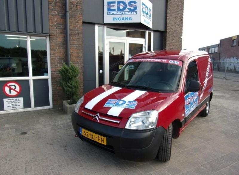 Nieuw bij EDS, bezorgen van automaterialen / onderdelen