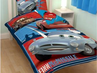 Disney Cars 2 Finn McMissile Dekbedovertrek