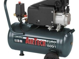 Einhell Euro 1500/1 Oliegesmeerde compressor!!!