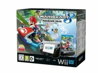 Wii U premium pack + Mario kart 8