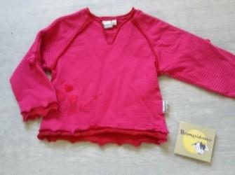 Nieuw roze streepshirt BAMPIDANO mt 80