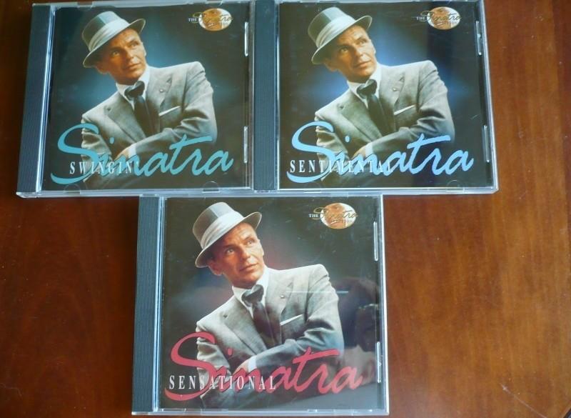 3 CD's Frank Sinatra Sentimental - Sensational - Swingin.