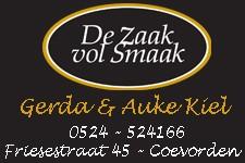 De Zaak vol smaak Gerda & Auke Kiel