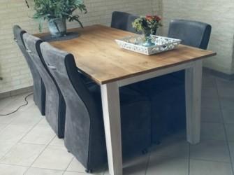 eiken houten tafel