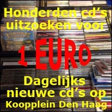 CD's uitzoeken voor 1 Euro