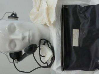 Koptelefoon, Headset, type RLF 20, Ericsson, jaren'70.(7)