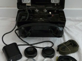 Veld Telefoon, KL, type: Standard Elektrik Lorenz, 1971.(3)