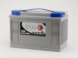 Dynac Boot Elektromotor accu AGM Semi tractie 105 Ah - Nieu…