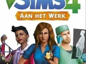 Sims 4 - Aan het werk