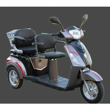 GOMAX Double Driewielscooter