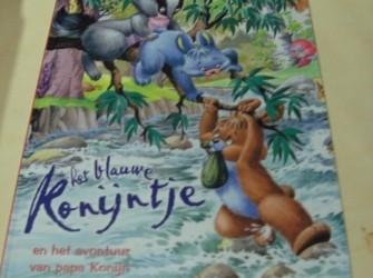 Boek Het blauwe konijntje en het avontuur van papa Konijn