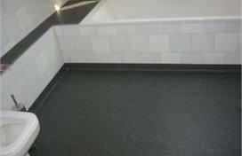 Badkamervloer douchevloer renovatie vloer