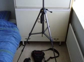 Sony a300 Spiegelreflex Camera + Toebehoren