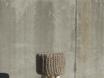 [Webshop] By-Boo Krukje Wool wooden legs small in 7 kleuren