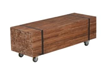 [Webshop] TV-meubel Vega met wielen, breedte 120 cm
