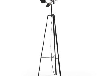 [Webshop] LaForma Vloerlamp GOTH, kleur zwart