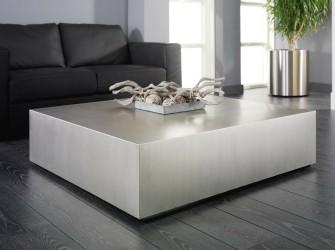 [Webshop] Salontafel Theola RVS, 110 x 110cm