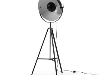 [Webshop] LaForma Vloerlamp Parker, kleur zwart