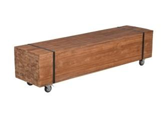 [Webshop] TV-meubel Vega met wielen, breedte 160 cm