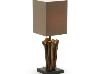 [Webshop] LaForma Tafellamp SERATNA, kleur bruin