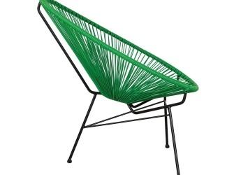 [Webshop] Woood Tuinstoel Mexico, kleur groen