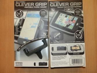 Clever grip smartphone voor auto