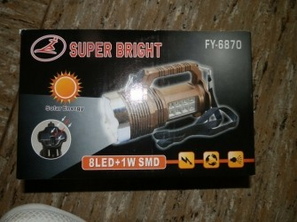 Solar zaklantaarn energy lamp super energy