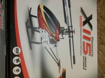 Radiografische helicopter klein model 35 cm