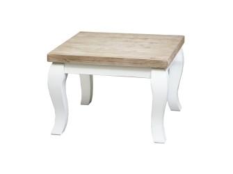 [Webshop] Hoek-salontafel Amoa met barok poot