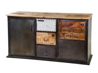 [Webshop] Dressoir Eleonora Vintage met 2 deuren en 3 laden